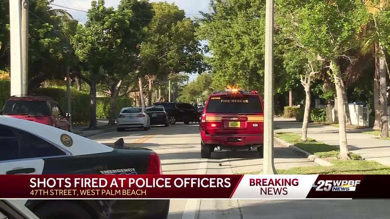 Police-involved shooting shuts down West Palm Beach neighborhood for hours