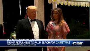 Trump returning to Palm Beach for Christmas
