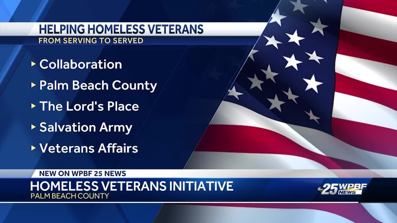 Palm Beach County aims to get homeless veterans off the street with new initiative