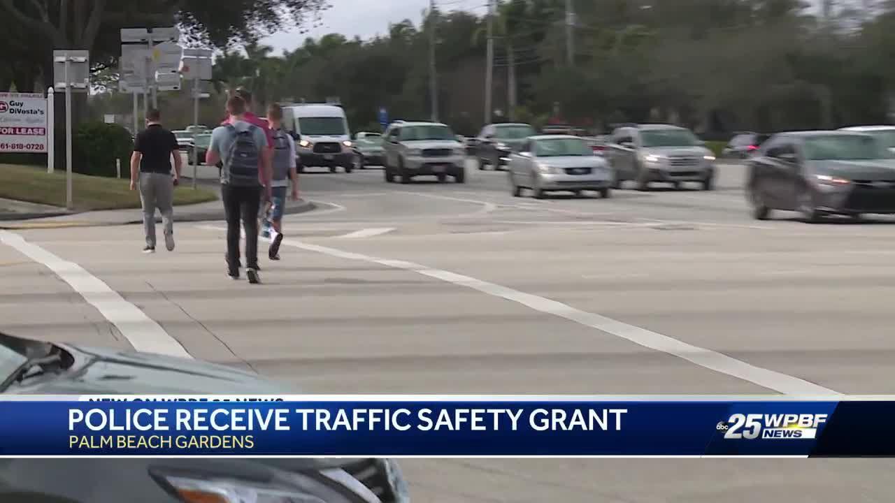 Palm Beach Gardens receives traffic safety grant