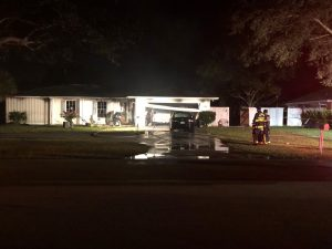 Elderly woman injured in early morning house fire in Tequesta