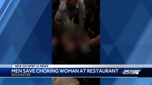 Boca Raton couple revive woman in upscale restaurant