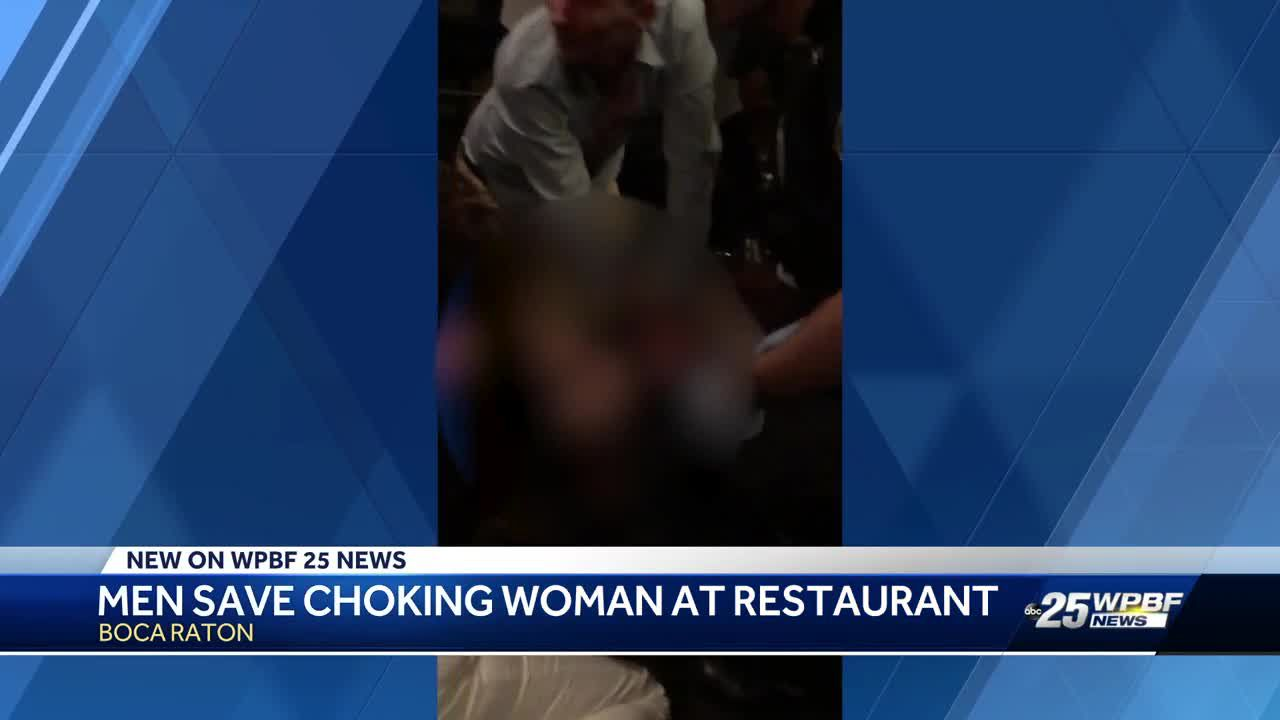 Boca Raton couple revive woman in upscale restaurant