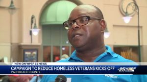Palm Beach County campaigns to get 110 homeless vets off streets