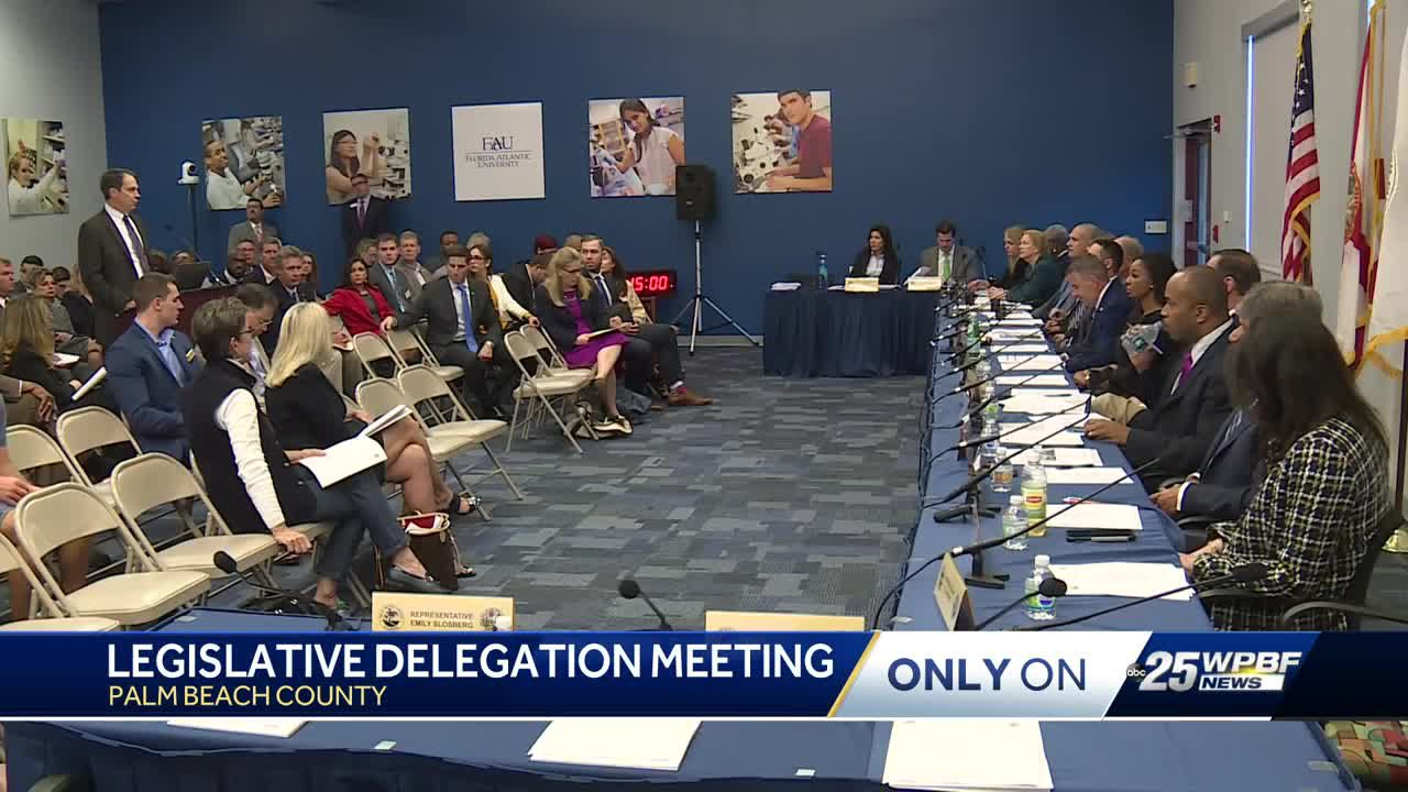 Key issues take center stage at Palm Beach County legislative delegation