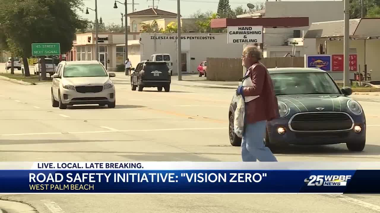 Vision Zero program works to curb traffic accidents in West Palm Beach