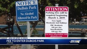 Dubois Park will no longer offer free parking on weekends and holidays