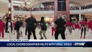 Local choreographer helps with viral video