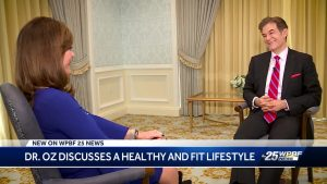 Dr. Oz tells Palm Beachers how to live their best life – and it's not money