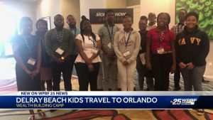 Delray Beach kids travel to Orlando for a wealth building camp