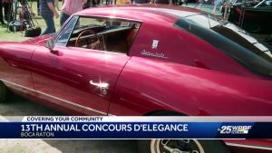 13th Annual Boca Raton Concourse D'Elegance held this weekend