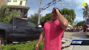 Body camera video shows PBSO deputy's range of emotions after crash