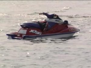 Hit-and-run jet ski accident sends one man to hospital