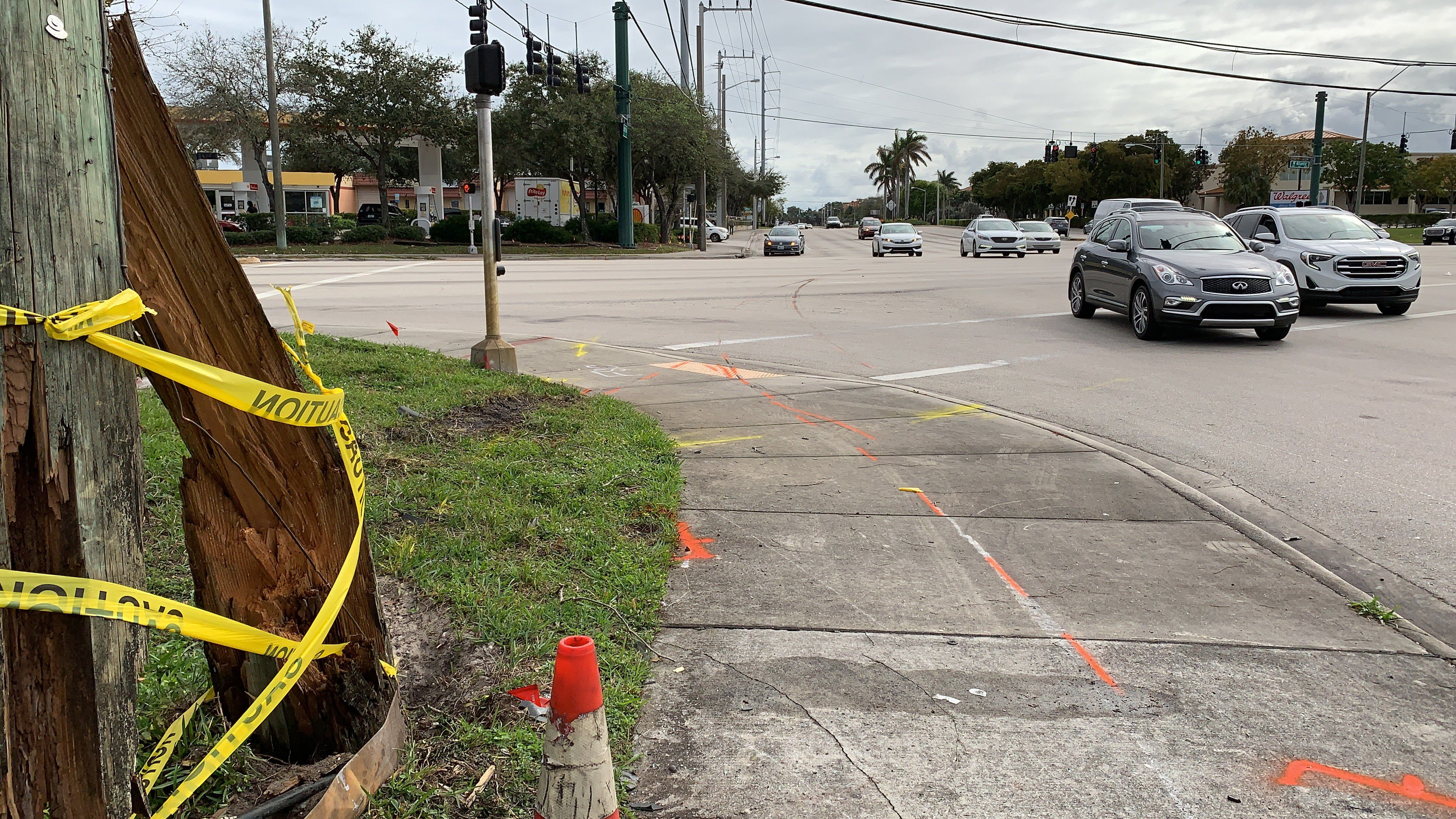 Early morning crash leaves 2 dead; one injured in Delray Beach