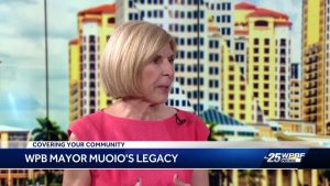West Palm Beach Mayor Jeri Muoio reminisces about her time in office
