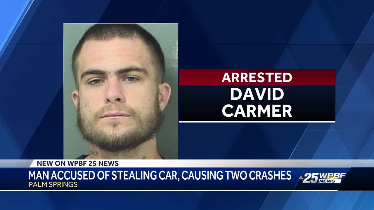 Man accused of stealing car