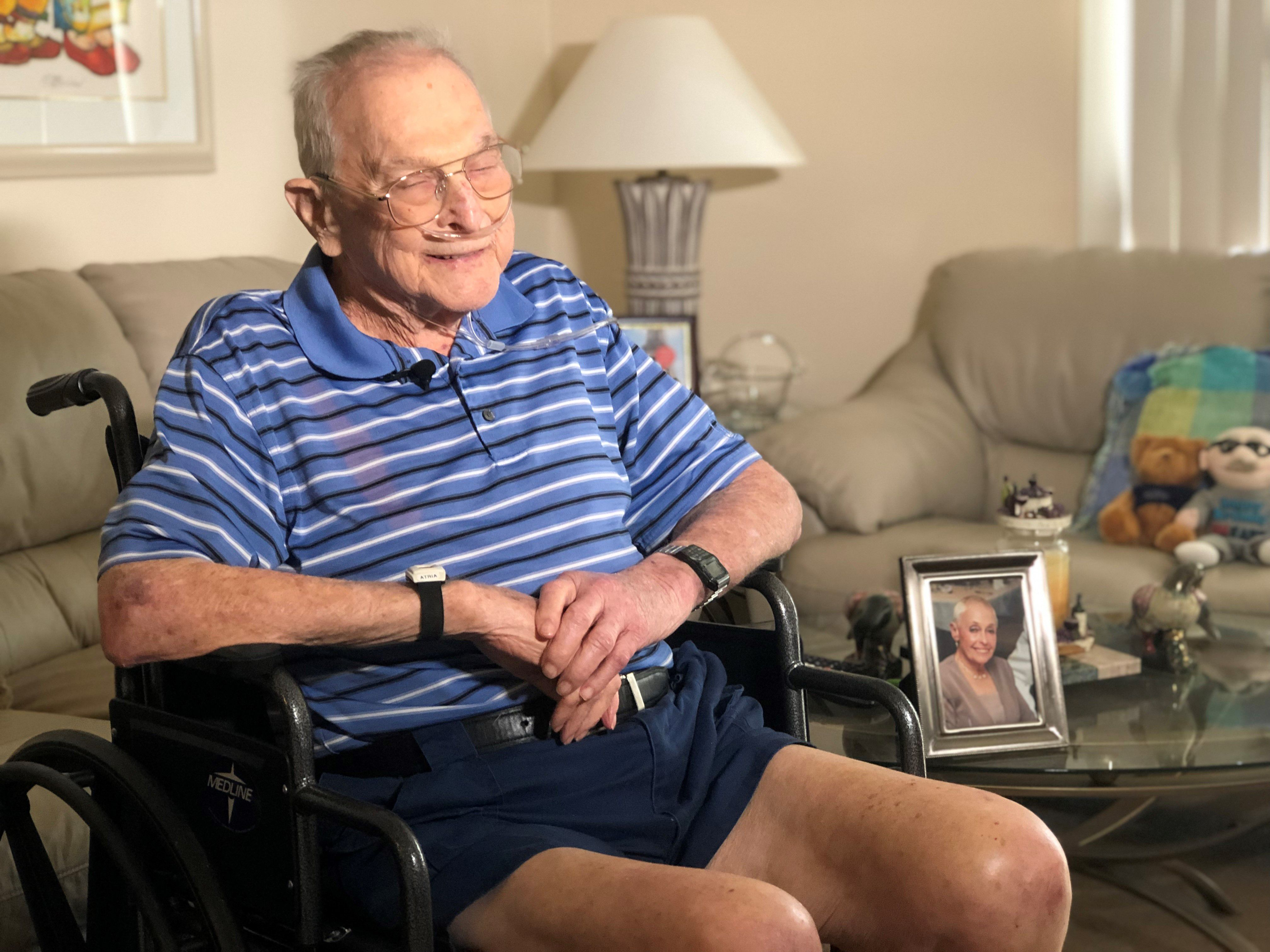 WWII veteran's dying wish- live out his days in the home he loves