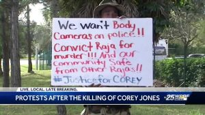 Protests after the killing of Corey Jones
