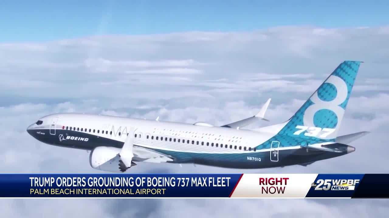 U.S. grounds Boeing 737 Max jets