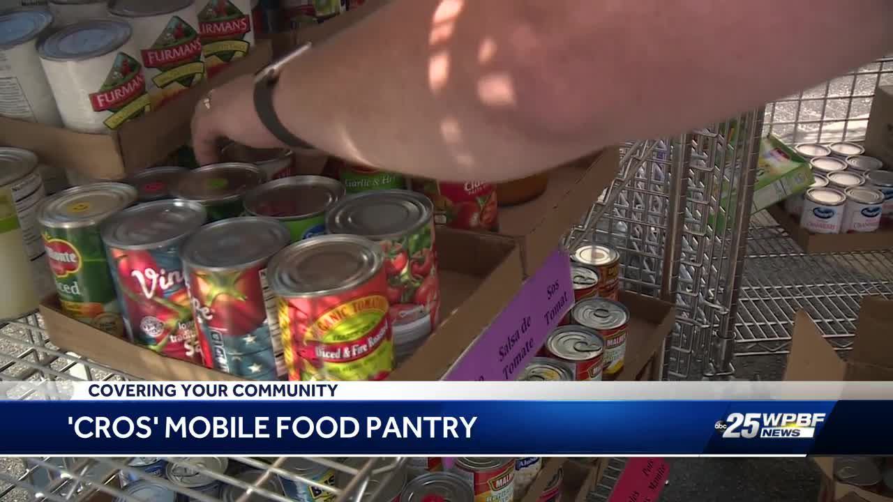 New set of wheels has Lake Worth food pantry delivering food on a roll