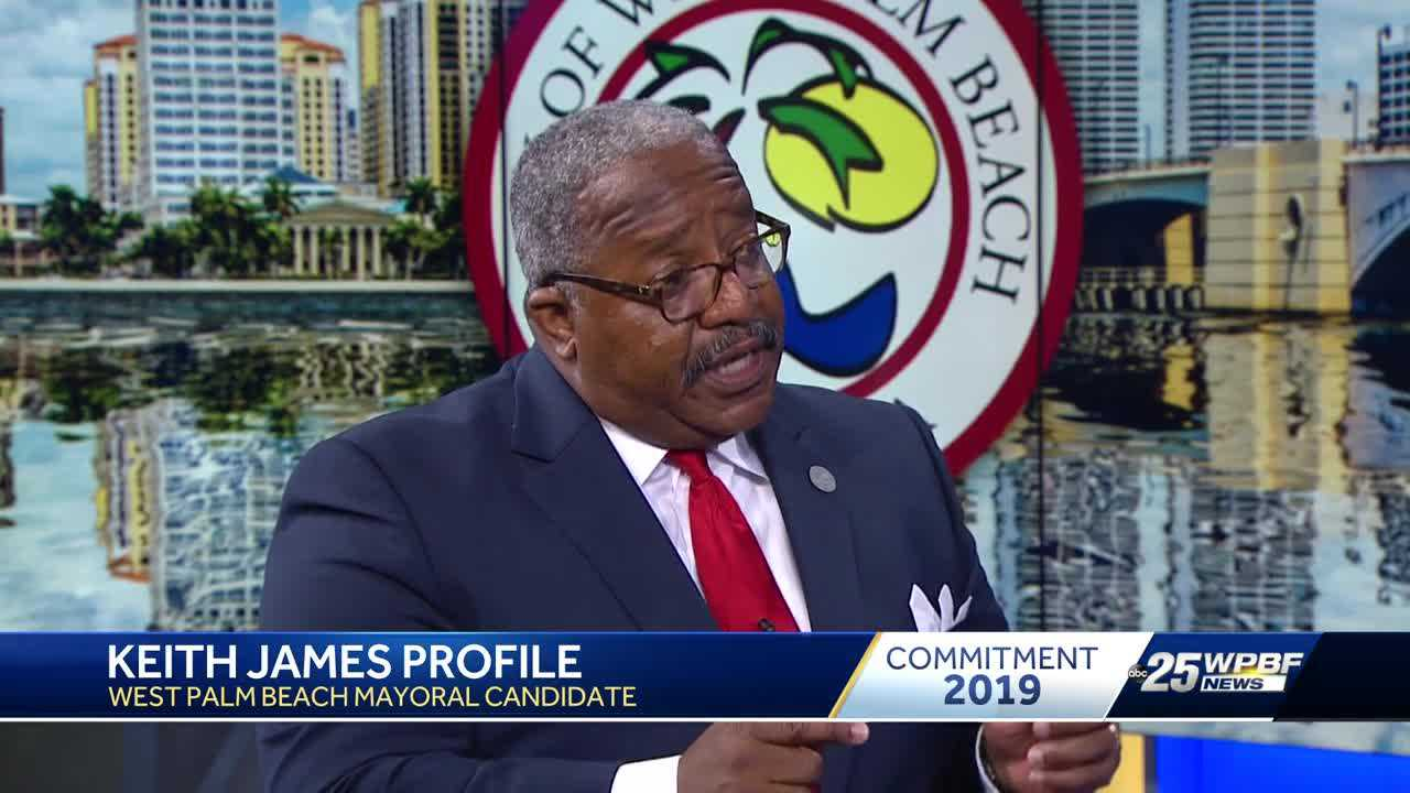Get to know West Palm Beach majoral candidate Keith James