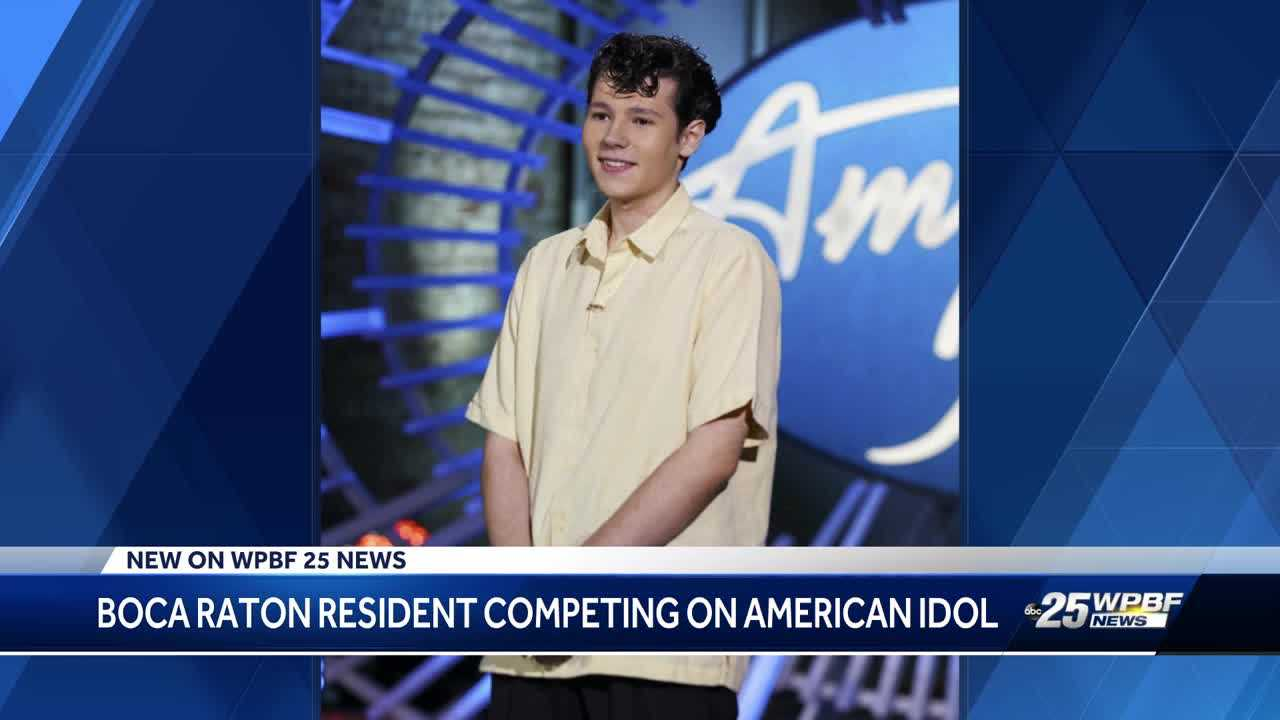 Boca Raton resident competing on 'American Idol'