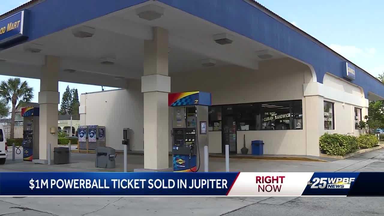 $1M Powerball ticket sold in Jupiter