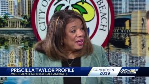 Get to know West Palm Beach majoral candidate Priscilla Taylor
