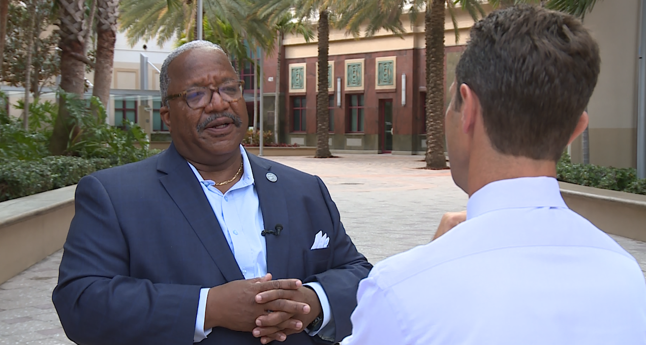 New WPB mayor hopes to move forward