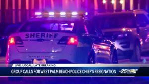 West Palm Beach police chief responds to call to resign