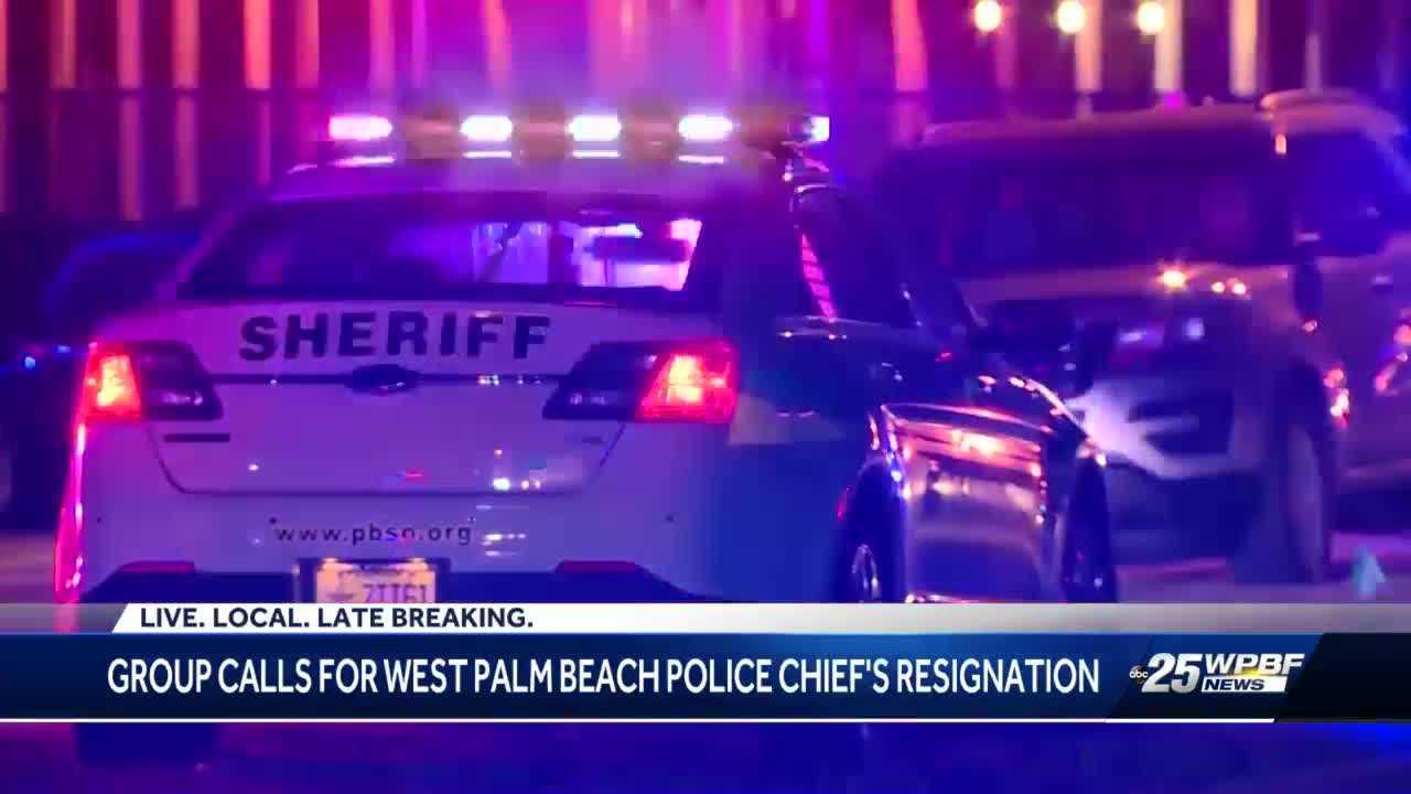 West Palm Beach police chief responds to call to resign