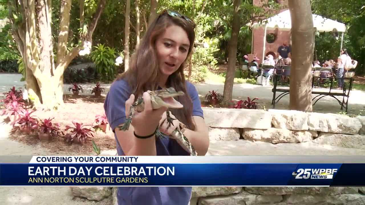 Ann Norton Sculpture Gardens holds free event for Earth Day