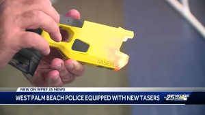 West Palm Beach police get new tasers