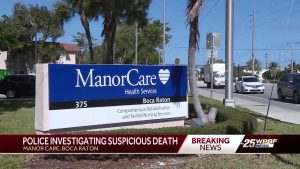 Boca Raton police investigating 'suspicious death' at local nursing home