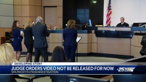 Spa attorneys say Kraft video at prostitution raid being leaked and shopped around