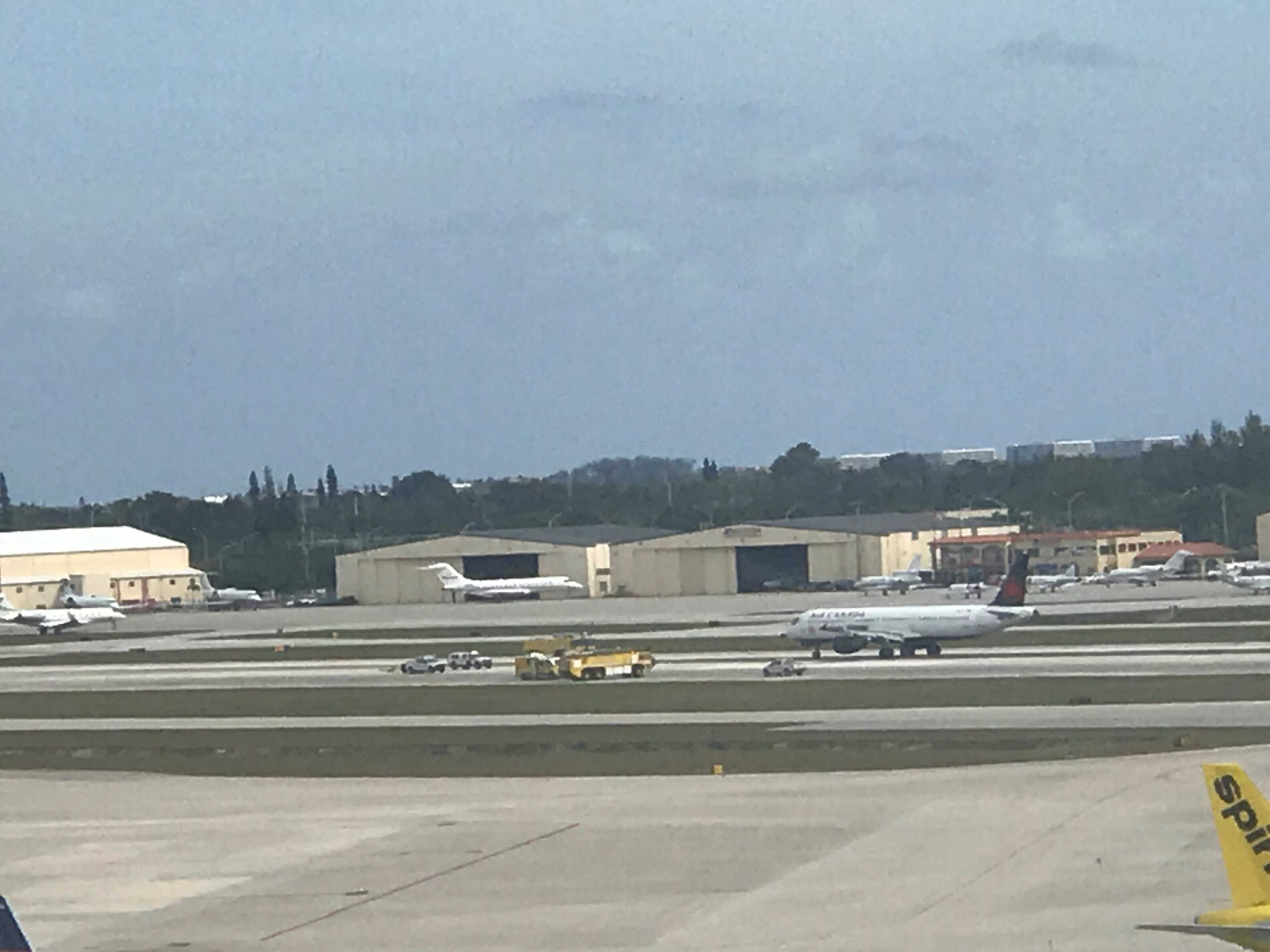 Air Canada plane lands safely at PBIA; passengers still on board