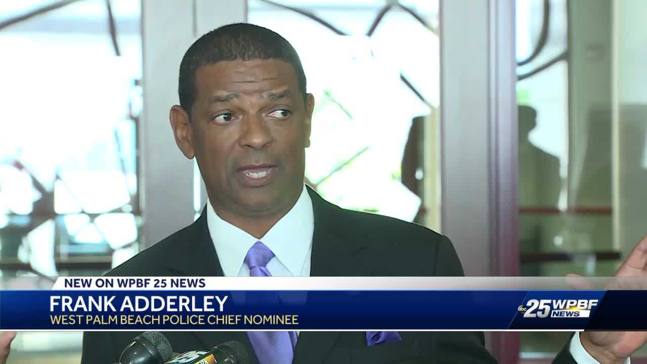 West Palm Beach Mayor introduces his choice for new police chief