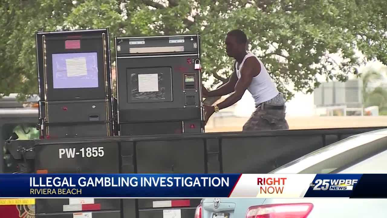 Riviera Beach police crack down illegal gambling in citywide sting