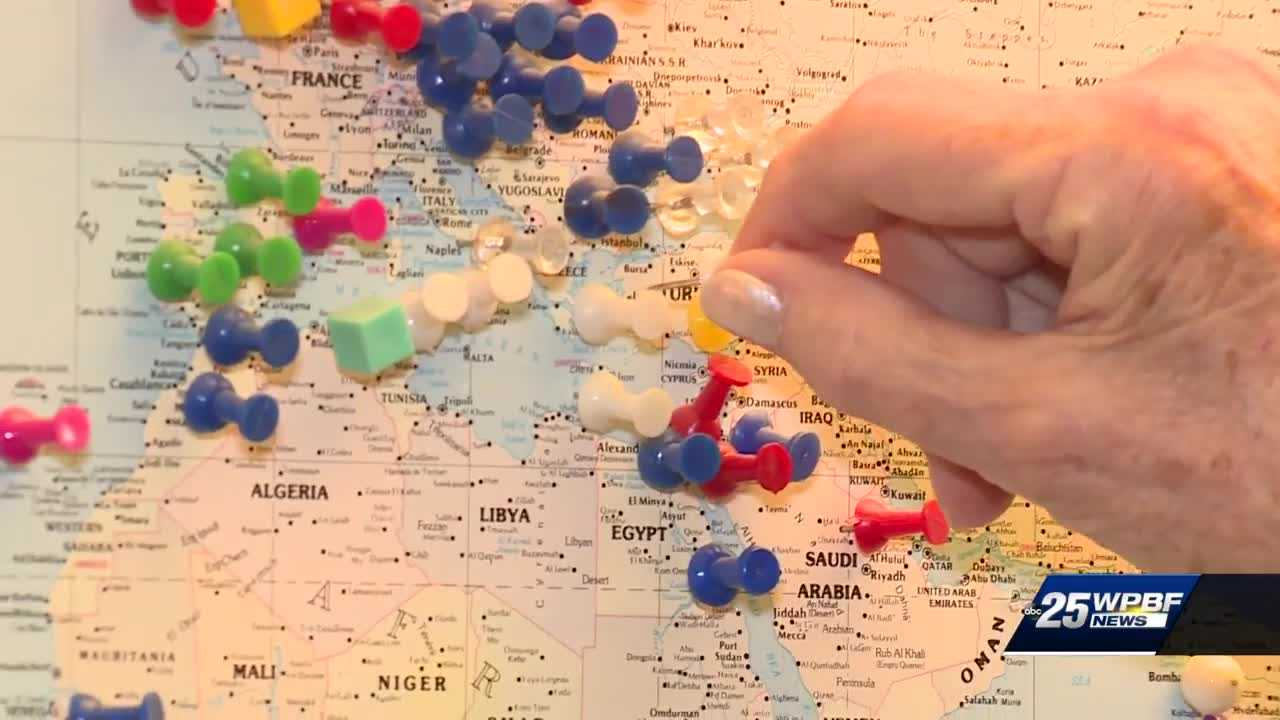 Boca Raton woman set to visit her 174th country
