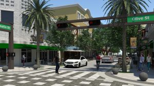 Downtown West Palm Beach is beginning to look like big city