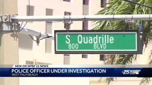 West Palm Beach officer under investigation after hit-and-run