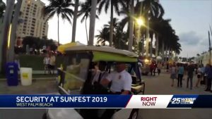 Security will be everywhere for SunFest