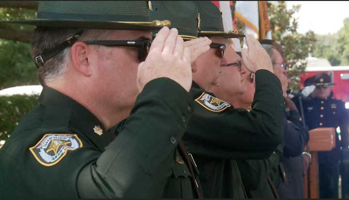 Fallen heroes honored at Palm Beach County Sheriff's memorial