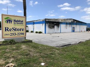 Inspectors search for cause of fire at Habitat for Humanity Palm Beach County ReStore