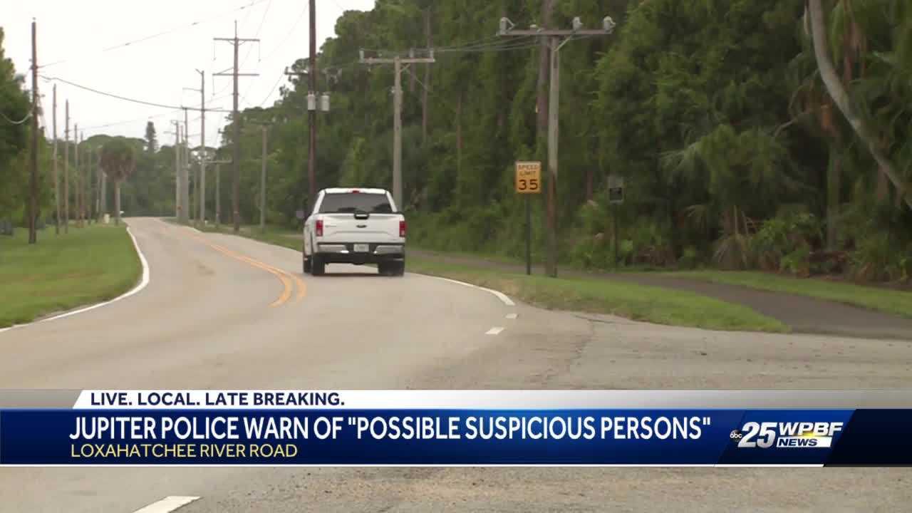 Police warn about suspicious person in Jupiter