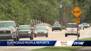 Jupiter police issue alert after reports of possible attempted abductions