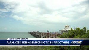 Palm Beach Gardens teen hopes to walk again after freak accident at beach