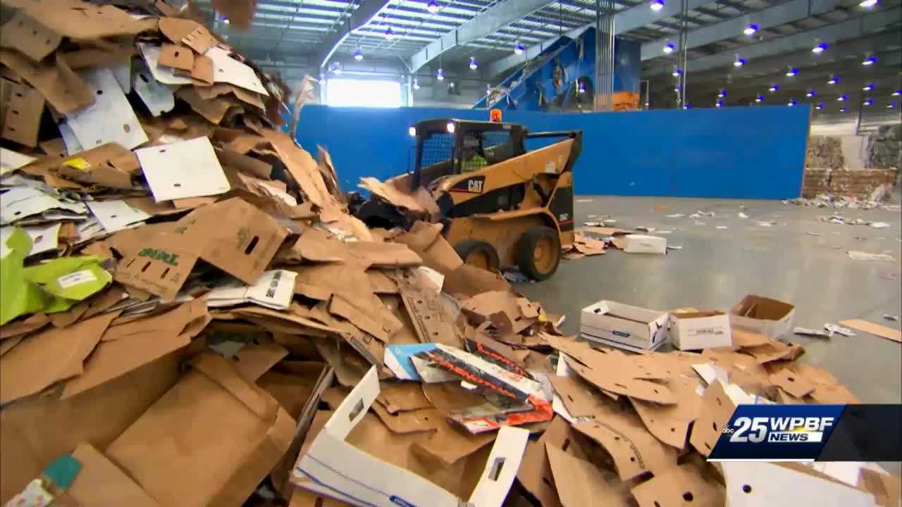 WPBF 25 Investigates: Where are your recyclables going?