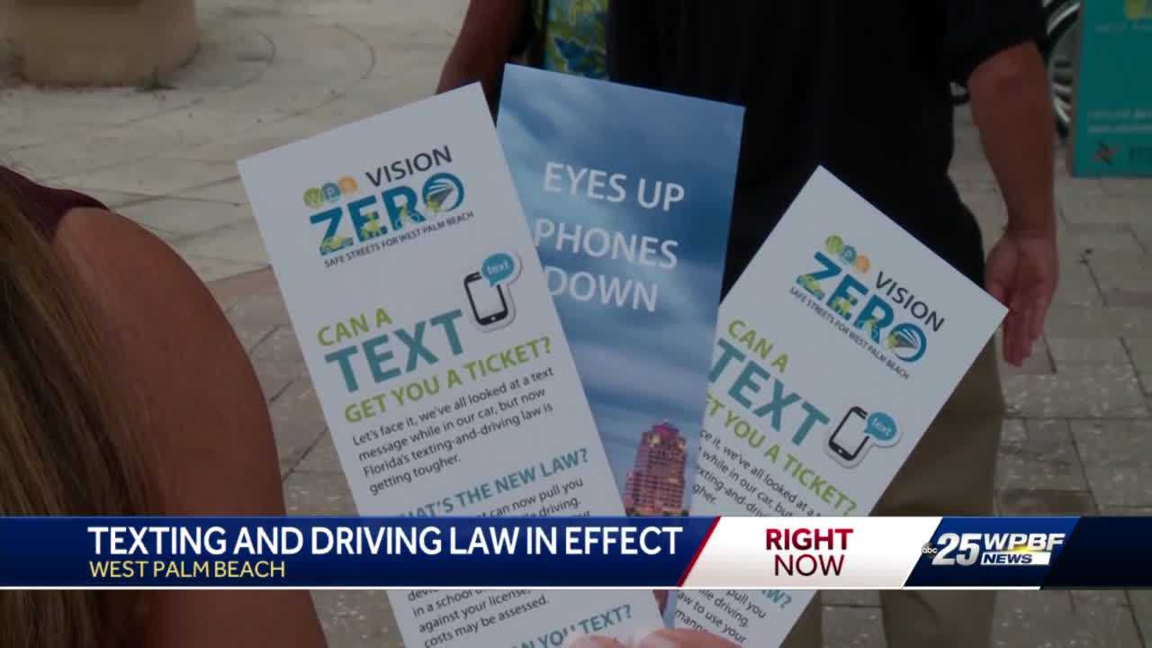 New education campaign to keep streets safe in West Palm Beach underway