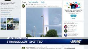 Jupiter woman's cellphone captures photo of strange light